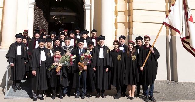 Professors of Law and Mathematics have become New Honorary Doctors