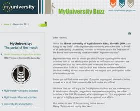 "The 2nd issue of  ""MyUniversity Buzz"" newsletter  prepared by VU."