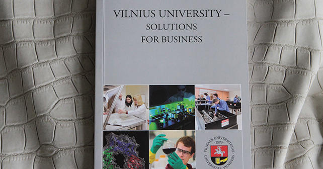 Vilnius University Presents Cooperation Possibilities for Business and Industry