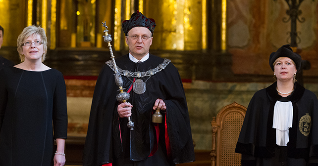 New Rector of Vilnius University Inaugurated!