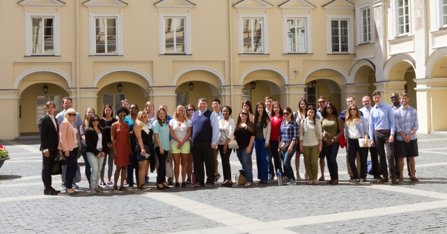 Summer Law Programme II launched in Vilnius University