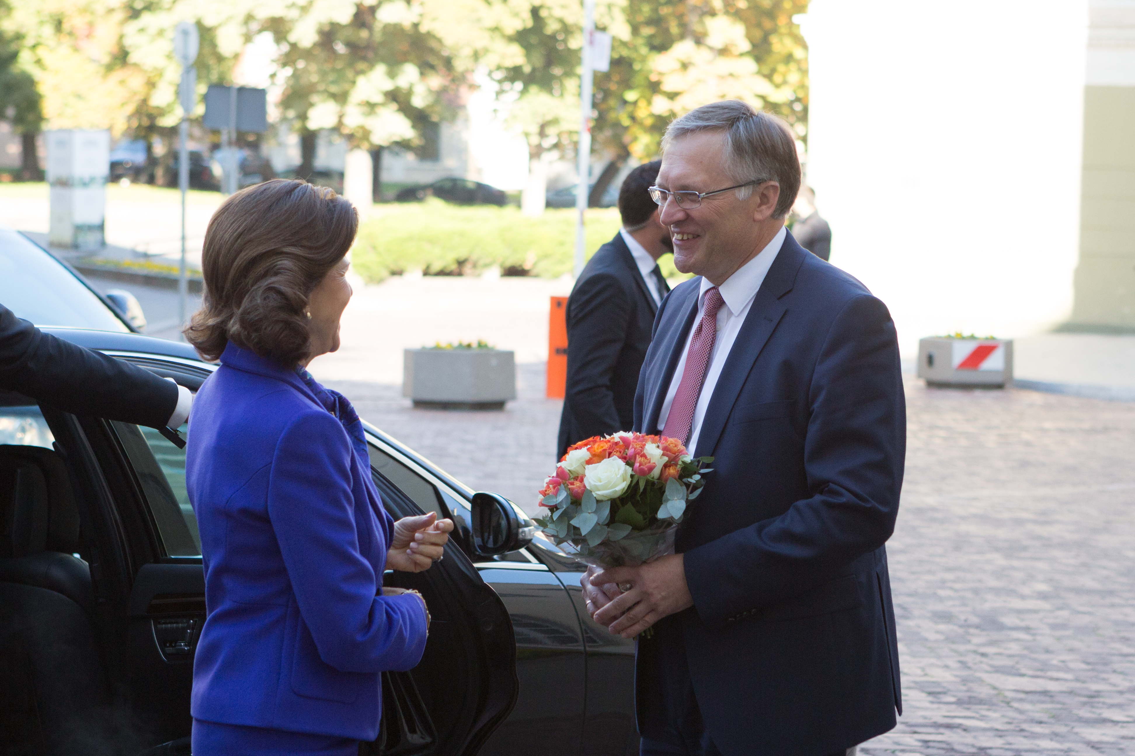 The Swedish Royal Couple Returns to Vilnius University after More Than 20 Years